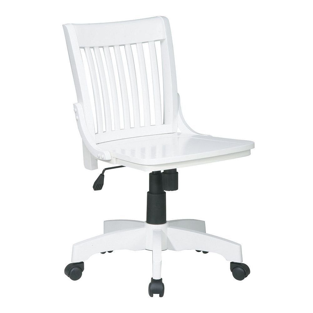 OSP Home Furnishings Deluxe Armless Banker's Chair