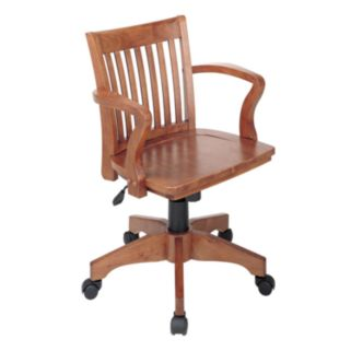 Office Star Products Deluxe Banker's Chair