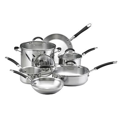 KitchenAid 10-pc. Stainless Steel Cookware Set