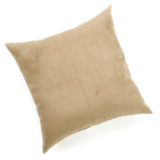Brentwood Heavyweight Faux-Suede Oversized Pillow
