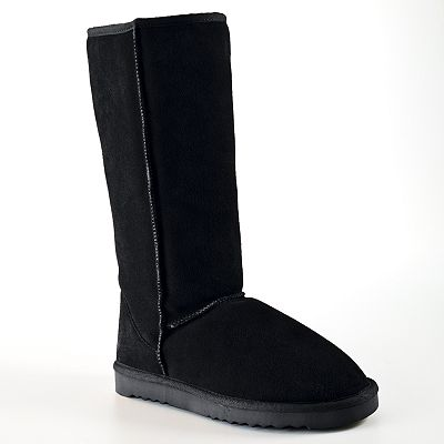 Sheepskin Tall Boots - Women