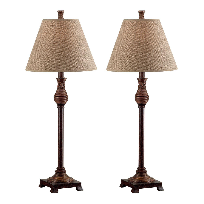 2pk Buffet Lamps