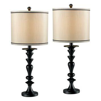 Bobbin 2-pk. Table Lamps
