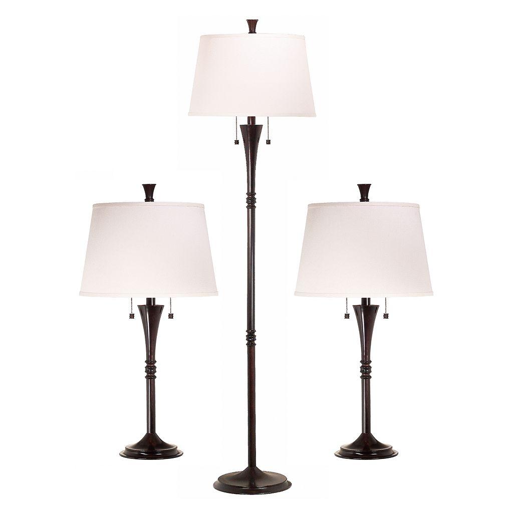 Park Avenue 3-pc. Lamp Set