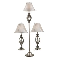Cerise 3-pc. Lamp Set