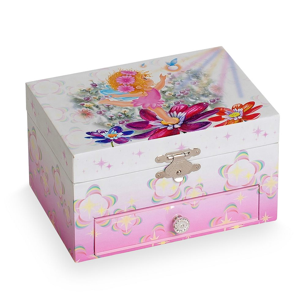 Mele Designs Nancy Girls Musical Ballerina Jewelry Box