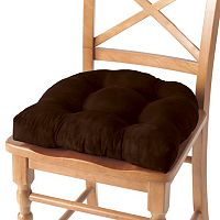 Waterfall Faux-Suede 4-pk. Chair Pads