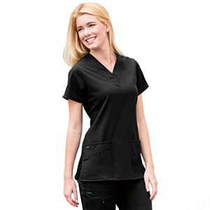 Jockey Scrubs Zipper-Pocket Top - Women's Plus 2206