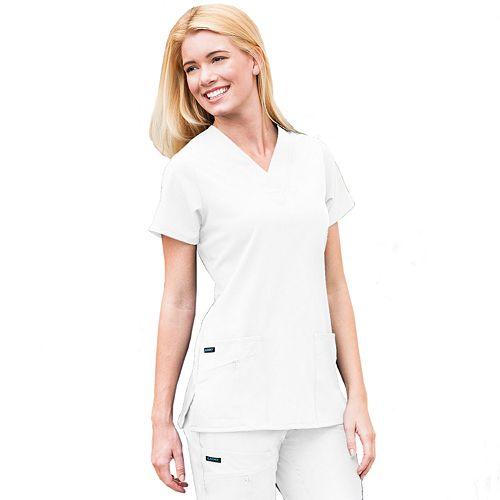 Jockey® Scrubs Zipper-Pocket Top - Women's Plus 2206