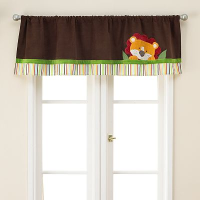 TOO GOOD by Jenny McCarthy Jungle Jubilee Window Valance