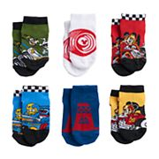 Disney's Mickey Mouse Toddler Boy 6 pkLow-Cut Socks