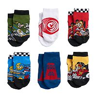Disney's Mickey Mouse Toddler Boy 6-pk. Low-Cut Socks