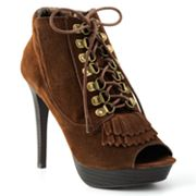 NYLA Sabiee Peep-Toe Booties - Women