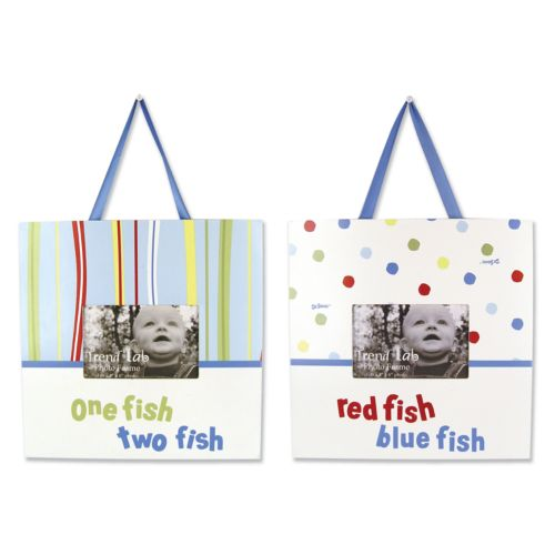 Trend Lab Dr. Seuss One Fish, Two Fish Photo Frame Set