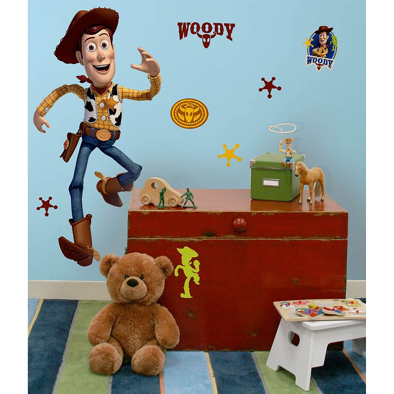 Disney / Pixar Toy Story 3 Woody Wall Sticker, Multicolor