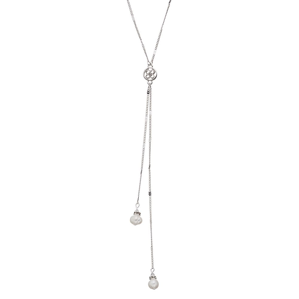 Lc Lauren Conrad Freshwater Cultured Pearl Long Lariat Necklace