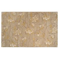 Surya Goa Floral Rug - 5' x 8'