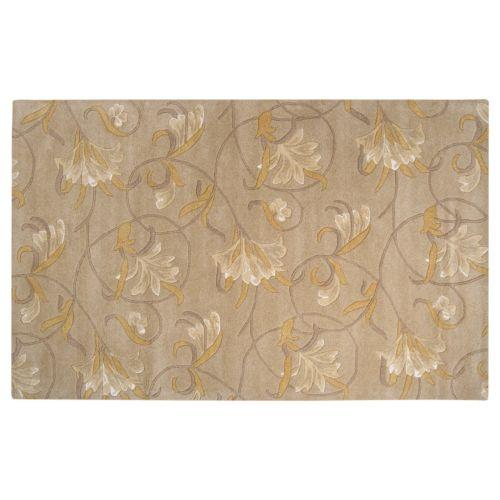 Surya Goa Floral Rug – 5′ x 8′