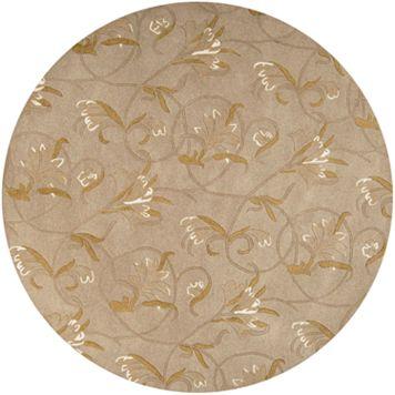 Surya Goa Floral Rug - 7'9'' Round