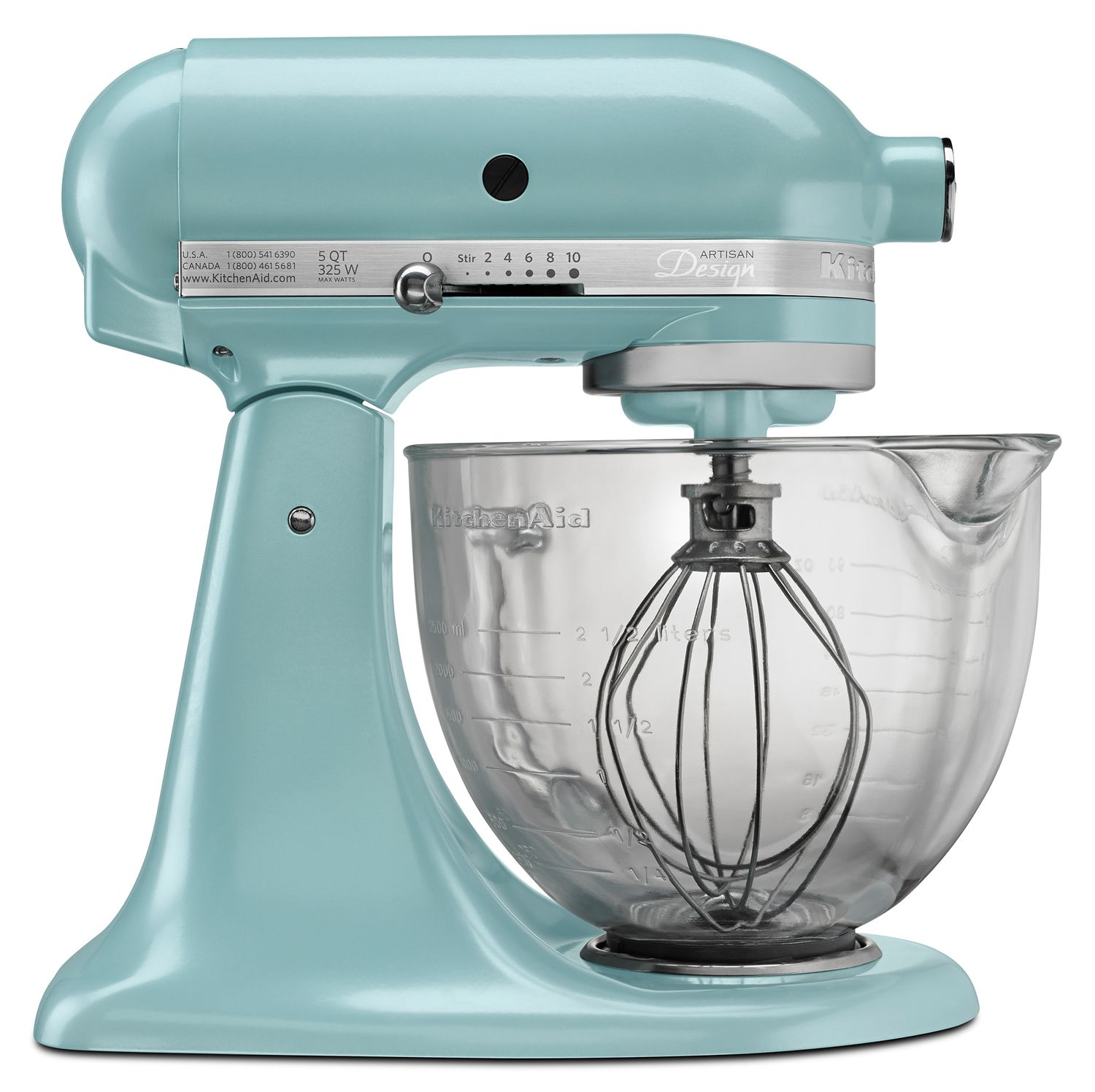 KitchenAid KSM155GB Artisan Design Series 5 Qt. Stand Mixer