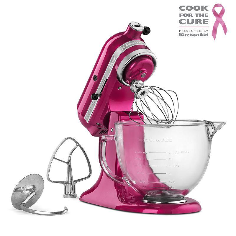 KitchenAid KSM155G Artisan Design Series 5-qt. Stand Mixer (Pink)