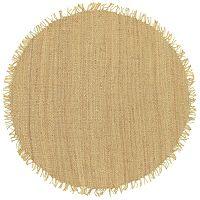 Surya Jute Natural Rug - 8' Round
