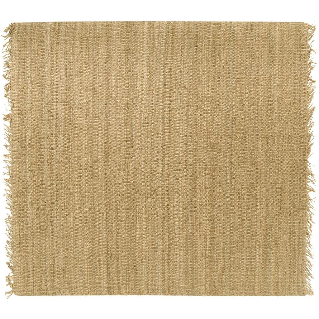 Surya Jute Natural Rug - 8' Square