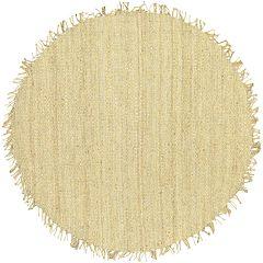 Surya Jute Bleached Rug - 8' Round