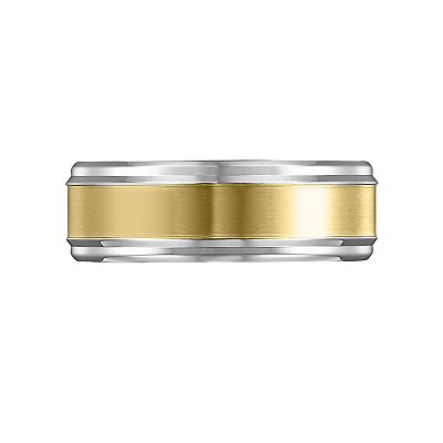Cherish Always Stainless Steel Two Tone Band - Men