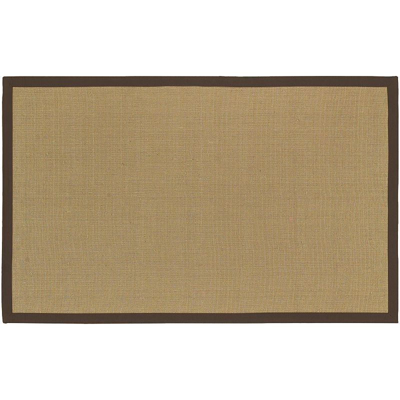 Decor 140 Soho Jute Rug, Brown, 2X3 Ft
