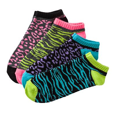 SONOMA life + style 4-pk. Animal No-Show Socks
