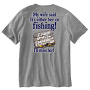 Jester Her or Fishing Tee