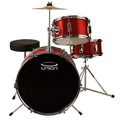 Union Junior 3 pc Drum Set