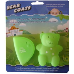 Mommy I'm Here Bear Coats Child Locator Covers