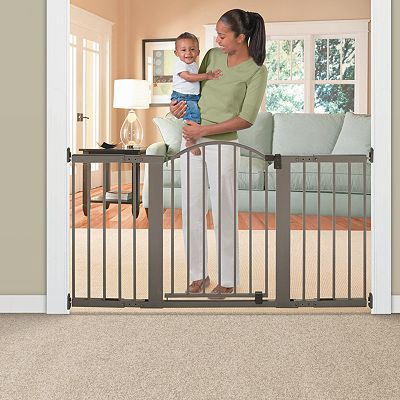 Summer Infant Stylish 'n Secure Extra Tall Metal Expansion Gate