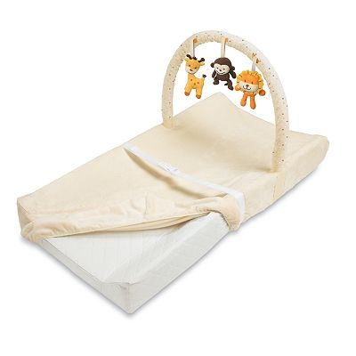Summer Infant Contoured Changing Pad and Toy Bar