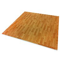 Tadpoles Wood Grain Play Mat