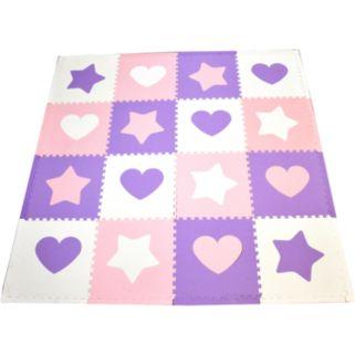 Tadpoles Hearts and Stars Play Mat