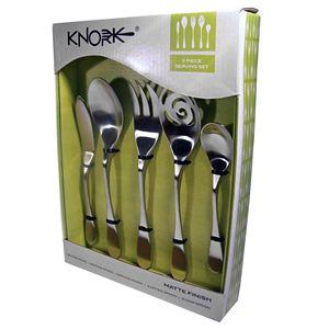 Knork Matte 5-pc. Serving Set