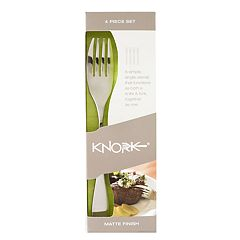 Knork Matte 4 pc Flatware Set