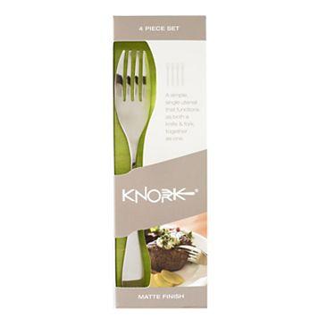 Knork Matte 4-pc. Flatware Set