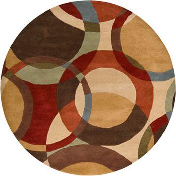 Surya Forum Abstract Rug - 4' Round