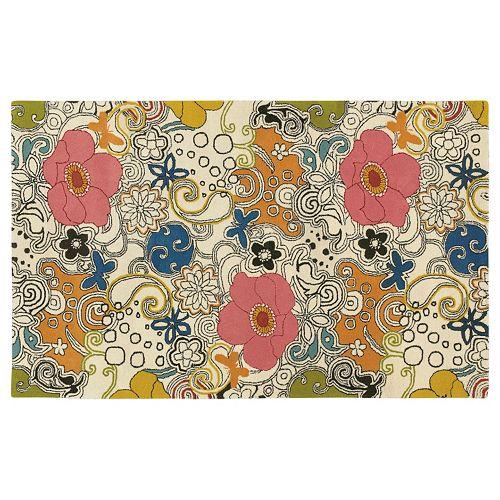Surya Goa Floral and Paisley Rug - 5' x 8'
