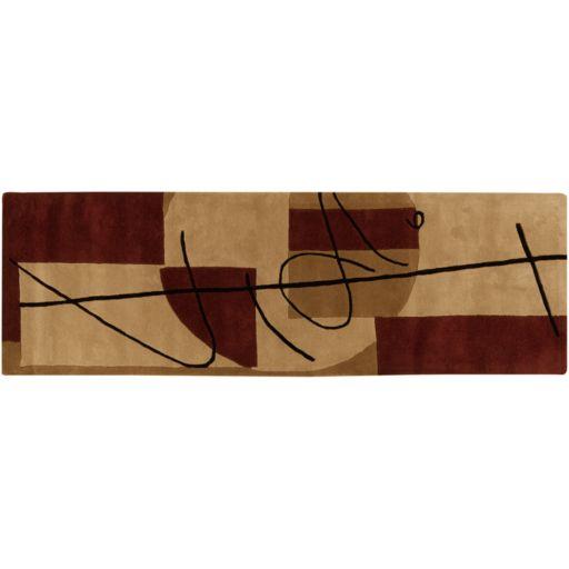 Surya Naya Geometric Rug Runner - 30'' x 96''