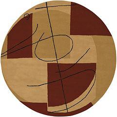 Surya Naya Geometric Rug - 5'9'' Round