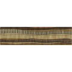 Surya Mugal Wave Rug Runner - 30'' x 120''