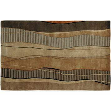 Surya Mugal Wave Rug - 5' x 8'