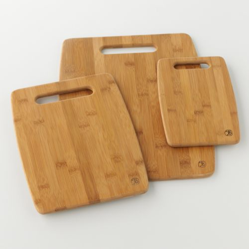 Totally Bamboo 3 Pc Cutting Board Set