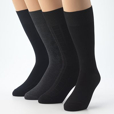 Croft and Barrow 4-pk. Dress Socks