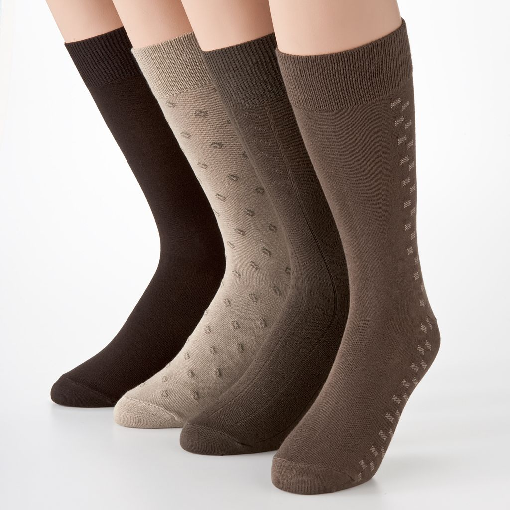 Men's Croft & Barrow® 4-pk. Dress Socks